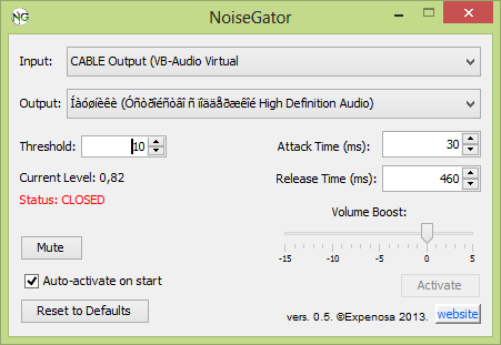 noisegator