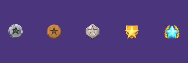 Стандартные значки подписчиков Twitch
